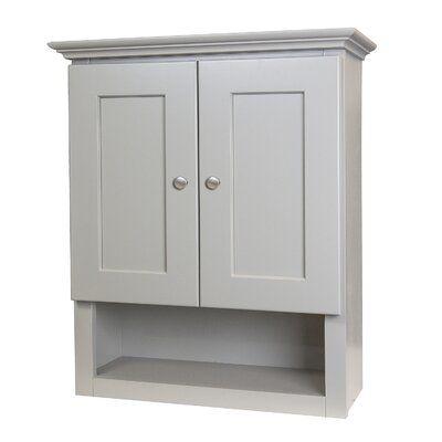 Cowden 21'' W x 26'' H x 8'' D Over-The-Toilet Storage