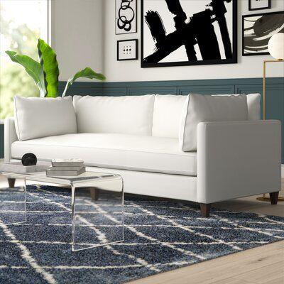 "North Burnet–Gateway 100"" Square Arm Sofa"