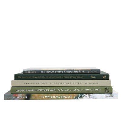 5 Piece Boxwood Authentic Decorative Book Set