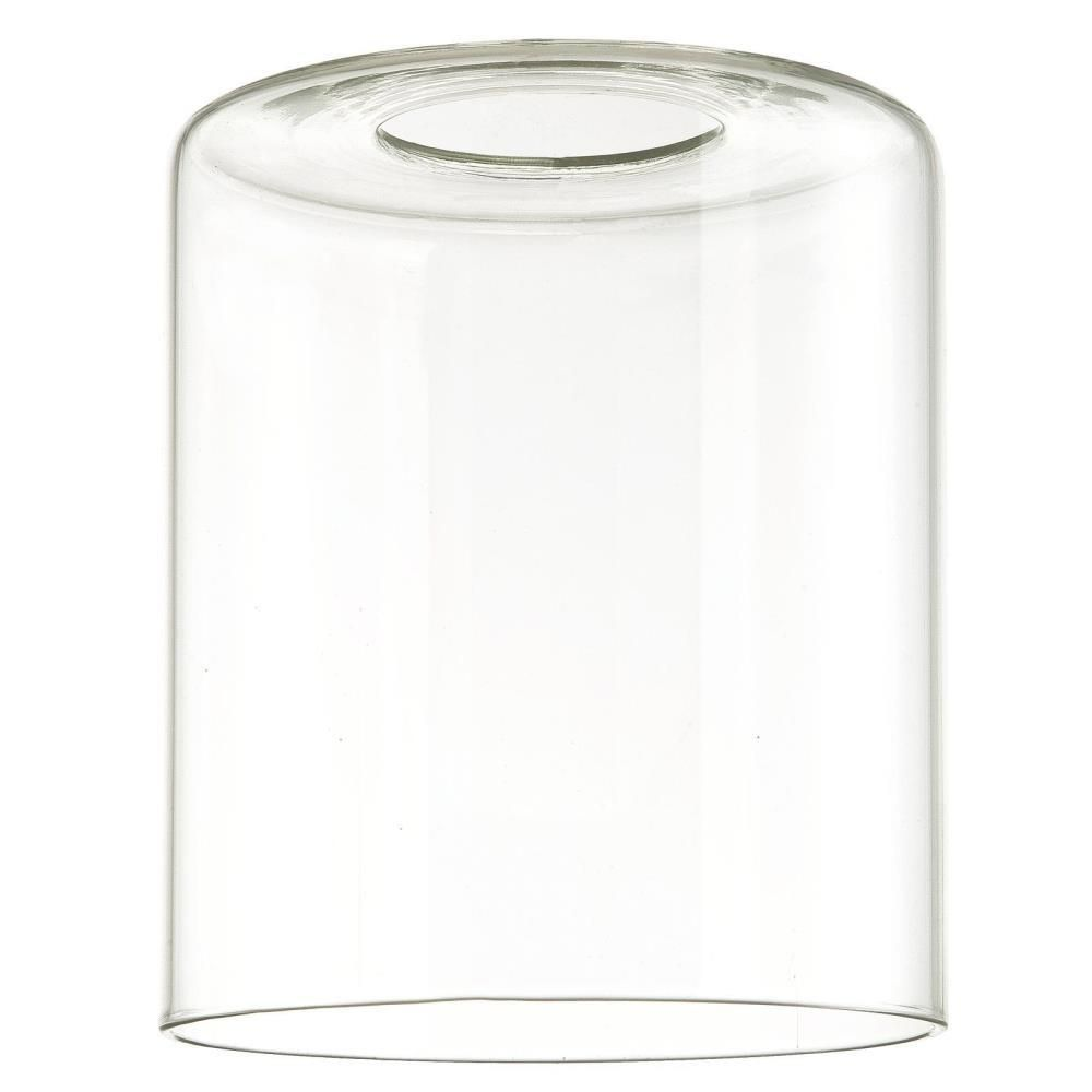 Westinghouse 5 in. Clear Cylinder Shade with 2-1/4 in. Fitter and 4-5/16 in. Width