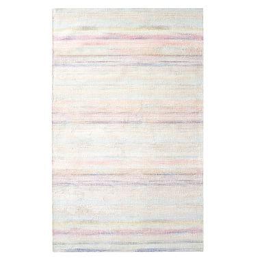 Oasis Painterly Rug, 5'x8', Multi