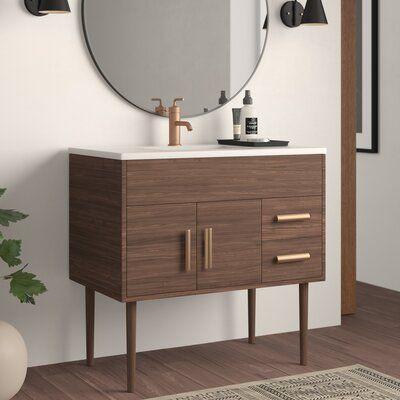 "Matthews 37"" Single Bathroom Vanity Set"