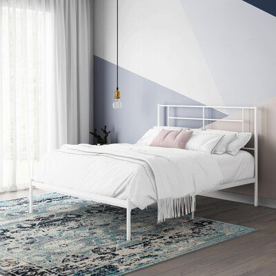 Arcisz Metal Platform Bed