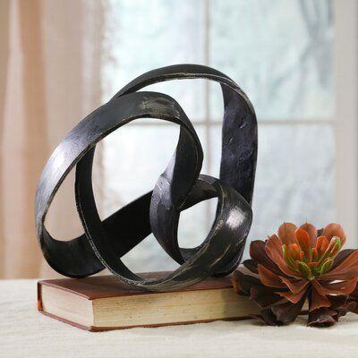Hyslop Aluminum Knot Sculpture