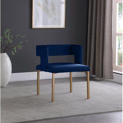 Inga Velvet Arm Chair (Set of 2)