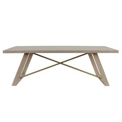Amarillo Sled Coffee Table