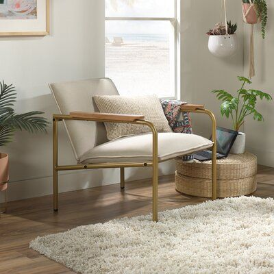 "Twinar Coral Cape 26.77"" Lounge Chair"