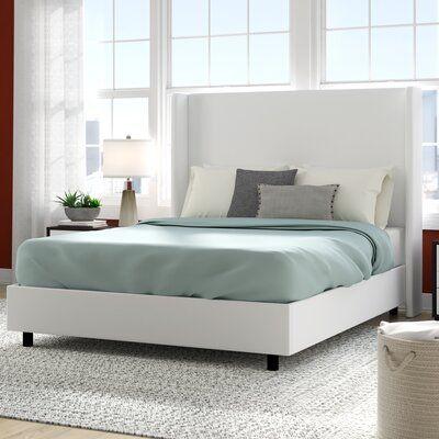 Goodrich Velvet Upholstered Standard Bed
