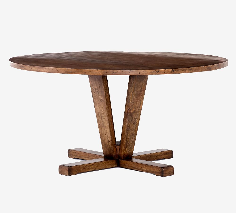 Parkview Reclaimed Wood Round Dining Table- backordered until Jan. 6 - Jan. 20