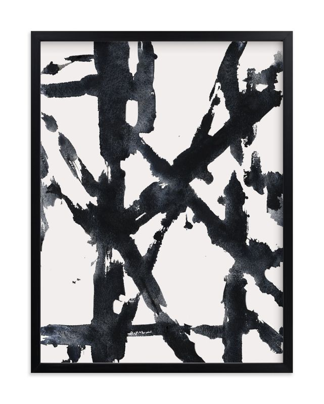 Ink Bridges 2 Art Print