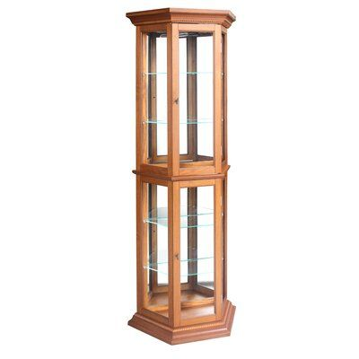 Lilly-Mae Floor Standing Lighted Curio Cabinet