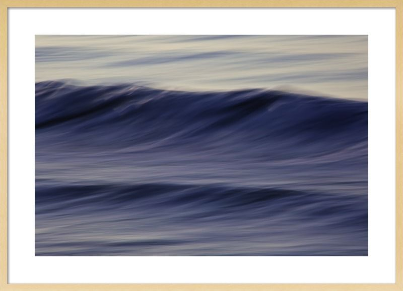 Waves II by Greg Anthon - Walking Shadow Pictures  for Artfully Walls