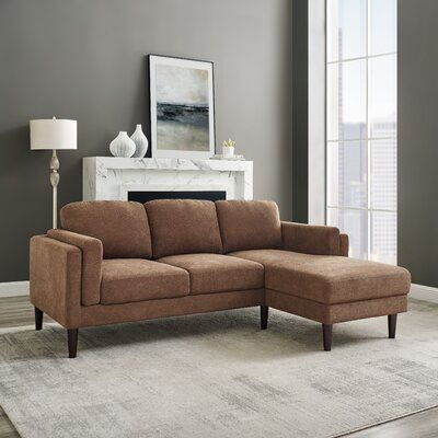 """Stender 82"""" Wide Right Hand Facing Sofa & Chaise"""
