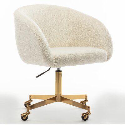 Darius Melinda Boucle Rolling Conference Chair