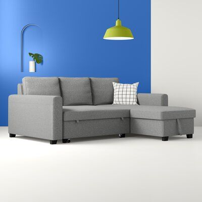 "Hendrick 88.6"" Wide Reversible Sleeper Sofa & Chaise"