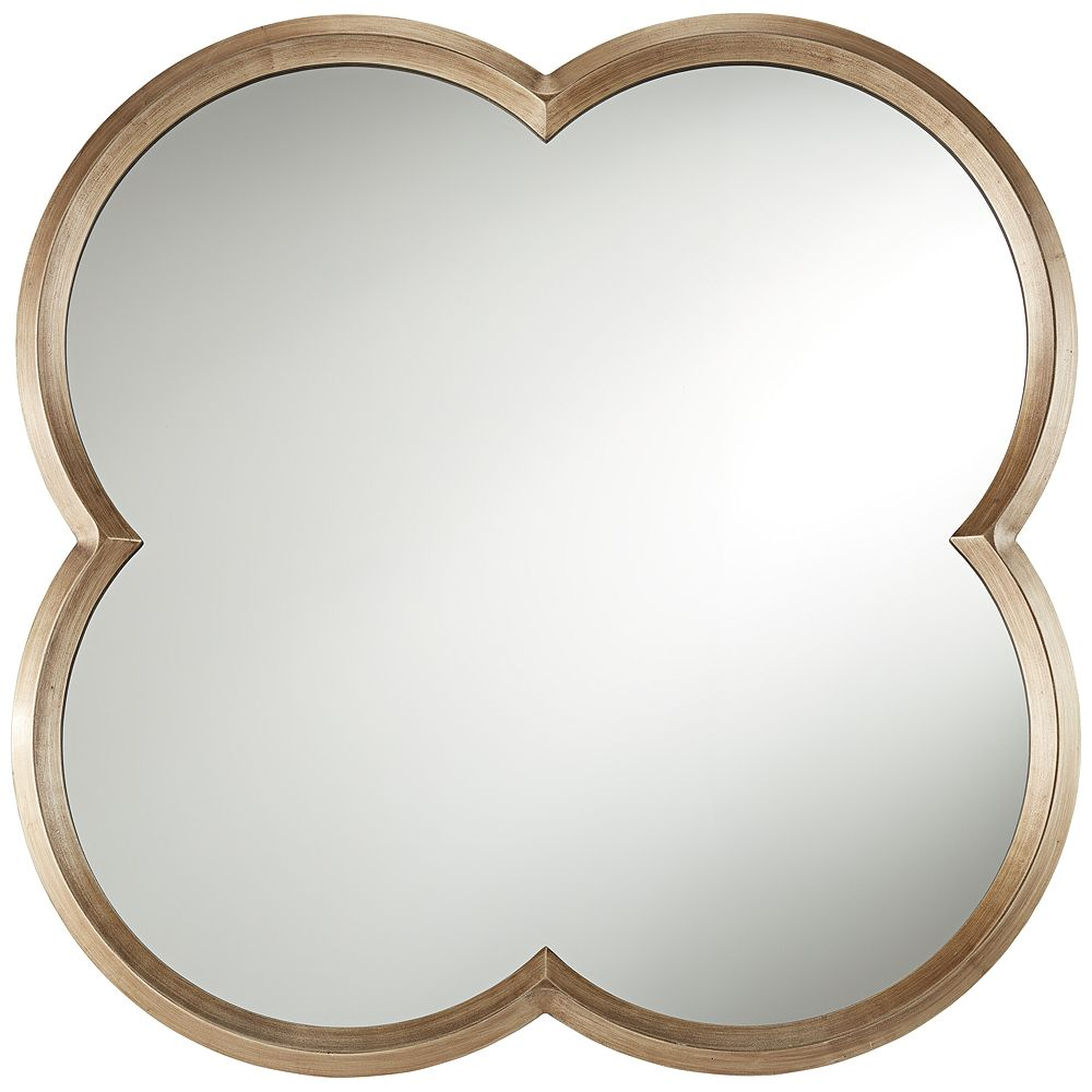 Palazzo Gold  Clover Framed Wall Mirror - Style # 87X02