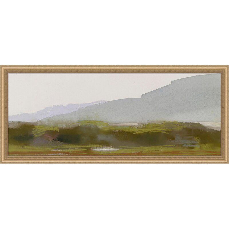 Providence Art 'Thom Filicia Home 'Salt Marsh 4 LG' - Picture Frame Painting Print on Paper