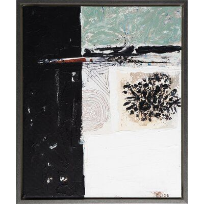 'Ernest Fashion 3' by Elige - Picture Frame Painting Print on Canvas
