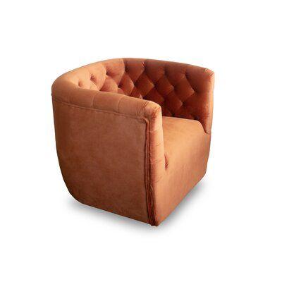 "Collings Lora Swivel 21.5"" Lounge Chair"