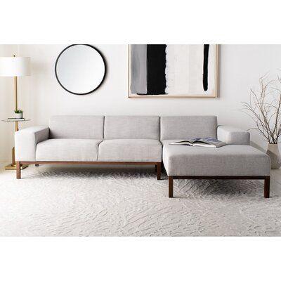 "Denson 109.5"" Wide Sofa & Chaise"