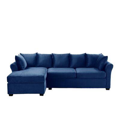 "Percheron 97"" Wide Left Hand Facing Sofa & Chaise"