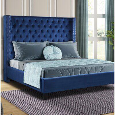Purkey Upholstered Standard Bed