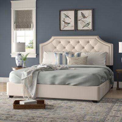 Devitt Tufted Upholstered Low Profile Storage Platform Bed