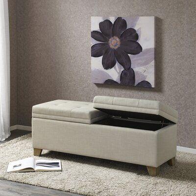 Almeida Upholstered Storage Bench