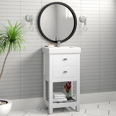 "Elyssa 17"" Single Bathroom Vanity Set"