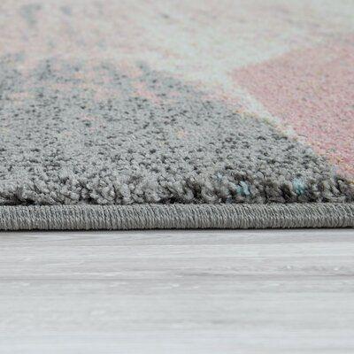 Colletti Pink/Cream Area Rug