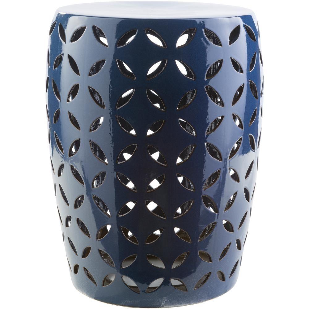 Araceli Cobalt (Blue) Garden Stool