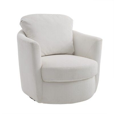 Fabric Swivel Accent Chair