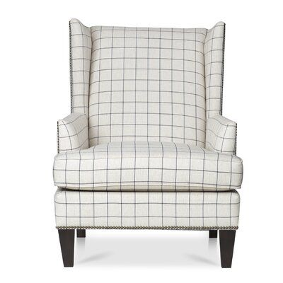 "Vakil 23"" Wingback Chair"
