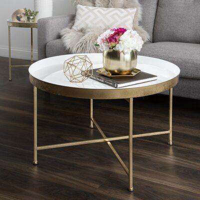 Marshfield Cross Legs Coffee Table