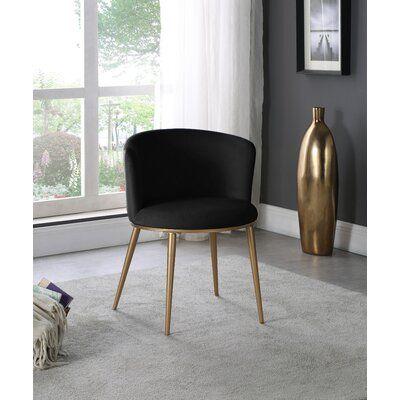 Ravon Velvet Upholstered Side chair