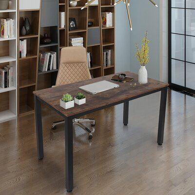 Computer Desk 40' Modern Sturdy Office Desk Study Writing Desk For Home Office