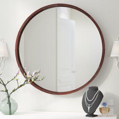 Loftis Round Modern & Contemporary Accent Mirror