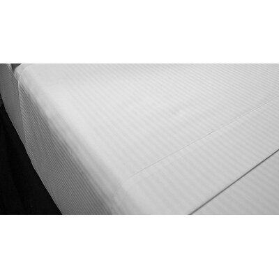 Hilton Worldwide Trucore Executive Stripe Flat Sheet