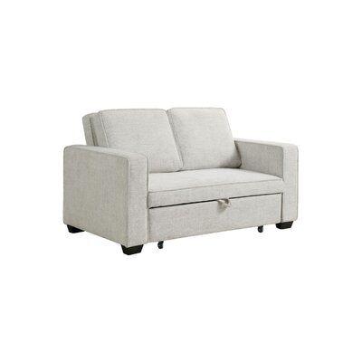 Annalucia 61.25'' Square Arm Sofa Bed
