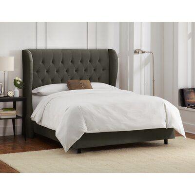 Brockville Upholstered Panel Bed