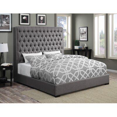 Gauthier Upholstered Standard Bed-Back in Stock Jun 5, 2021.