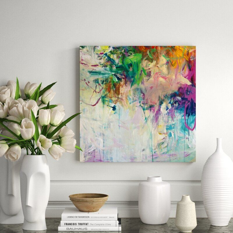 """Chelsea Art Studio 'I'll Keep It with Mine II' by Fern Cassidy - Painting Print Format: Image Brush Gel, Size: 54"""" H x 54"""" W x 2"""" D"""