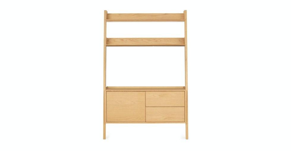 Fantol Oak Storage Shelf