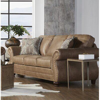 "Tariq 91"" Round Arms Sofa"