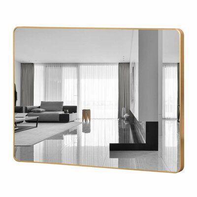 Flippo Rectangular Round Corner Wall Mounted Bathroom/Vanity Mirror