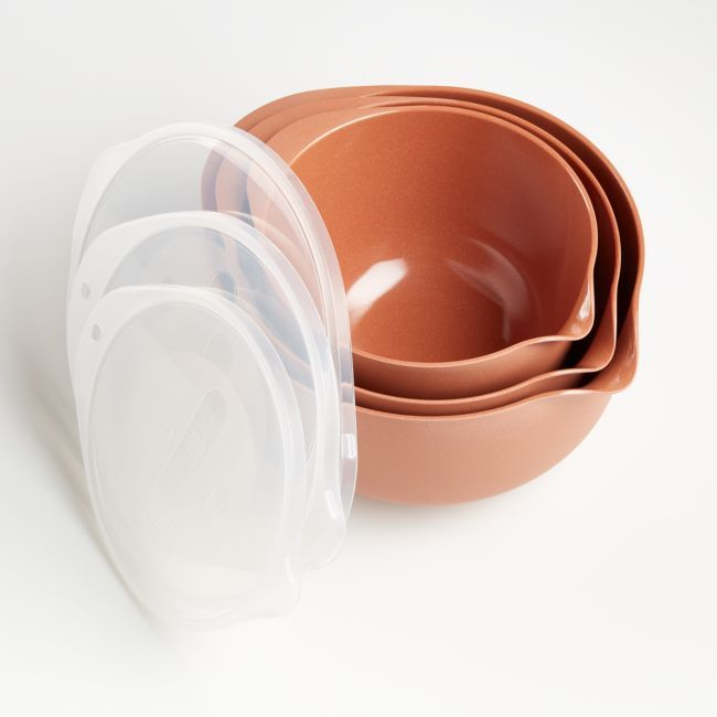 Rosti Terra Pebble Margrethe Bowls, Set of 3