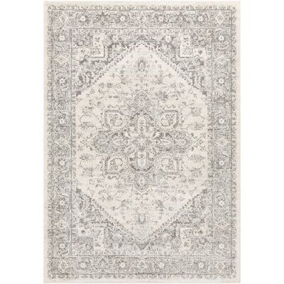 Benoit Oriental Gray Area Rug - Out of Stock