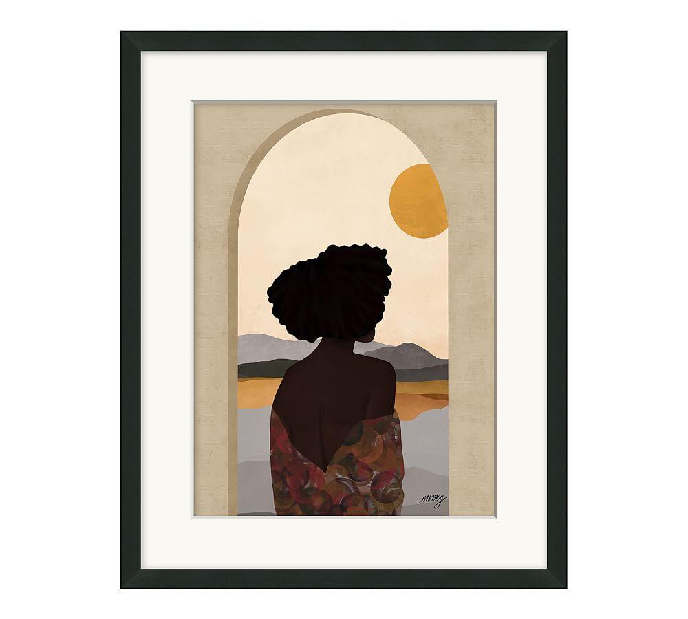 Hope Rising by Melissa Koby, Mat, 16x20 - Black