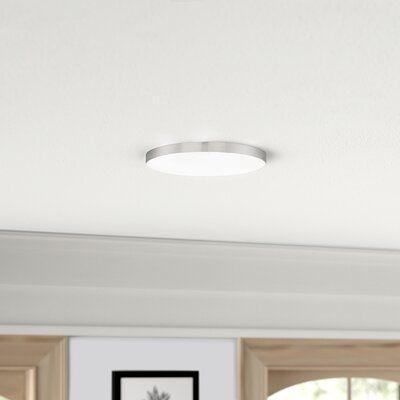 """Warrenton 1 - Light 11"""" Simple Circle LED Flush Mount"""
