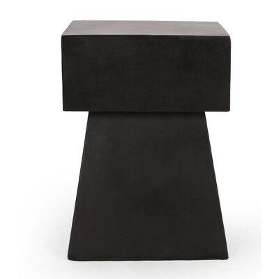 Arizona Concrete Side Table
